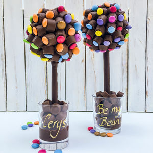 Personalised Rolo And Smarties Tree - food gifts