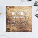 'Love You' Father's Day Card