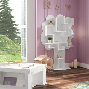 Louane Kids Small Tree Bookcase - baby's room