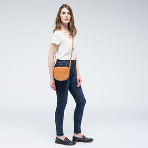 Personalised Women's Premium Suede Crossbody 'Nola S'