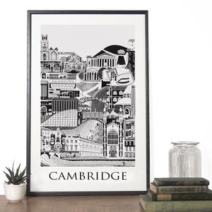 Cambridge Poster - posters & prints