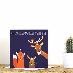 Woodland Christmas Card - what's new