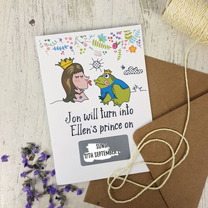 10 Fairy Tale Save The Date Cards - invitations