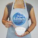 Personalised Where The Magic Happens Apron