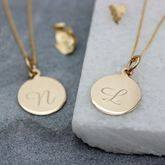 Personalised 9ct Gold Necklace - fine jewellery