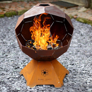 Football Barbecue And Fire Pit