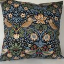 William Morris Strawberry Thief Cushion