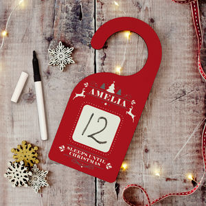 Christmas Countdown Sign - christmas home accessories