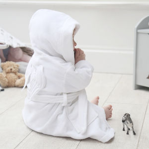 Angel Wings Robe - bathtime