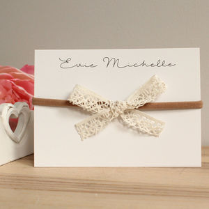 Lace Grande Bow - hair accessories