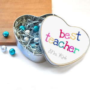 Thank You Teacher Gift Personalised