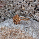Rose Gold And Black Diamond Ring : Bobble And Twinkle