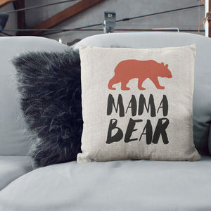 Mama Bear Cushion
