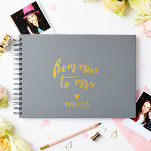 Personalised Hen Party Photo Album - hen party ideas