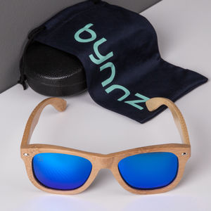 'Polar' Wooden Sunglasses - sunglasses