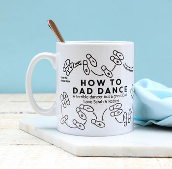 Personalised How To Dad Dance Mug