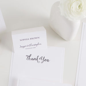 Script Wedding Place Card - place cards