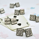 Wedding Cufflinks Handscript Style Six Pairs Or More