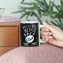 Resting Bitch Face Club Coffee Mug For Coffee Lovers