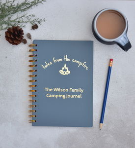 Personalised Family Camping Journal