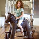 Check Rocking Horse with model