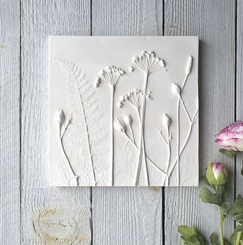 Summer Mix No.Two Plaster Cast Tile