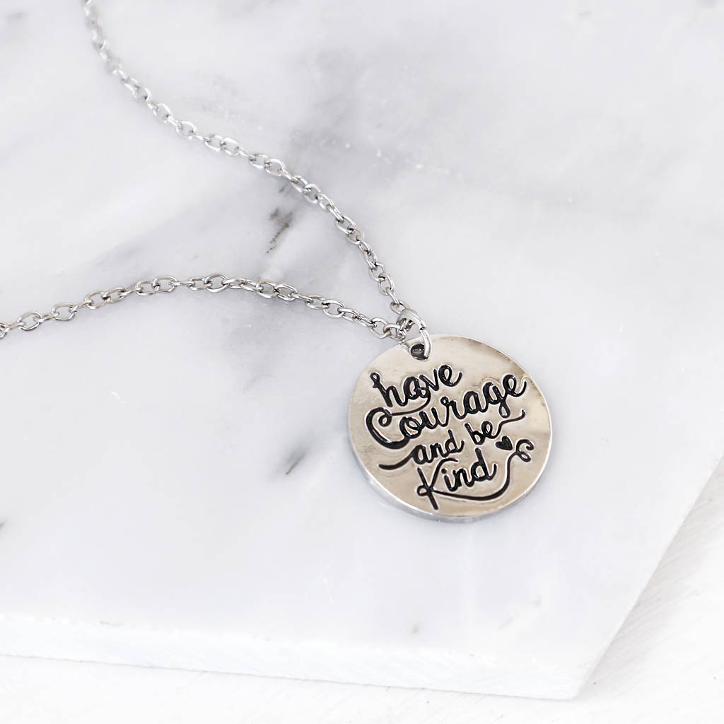 fullxfull gold il wire necklace listing word courage work zoom