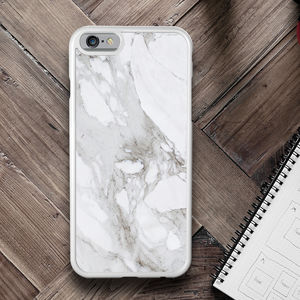 Marble iPhone Case Personalised - tech accessories for her