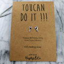 Toucan Sterling Silver Earrings