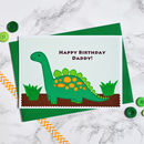 'Dinosaur' Personalised Birthday Card
