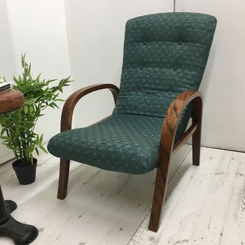 1930s Chair With Steam Bent Arms