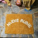 Nudie Rudie Bathmat
