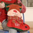 Rudy The Reindeer Personalised 3D Christmas Stocking