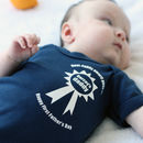 First Father's Day Baby Grow