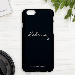 personalised iphone 7 cases leather
