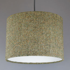 Barley Herringbone Harris Tweed Lampshade