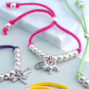 Personalised Suede Friendship Bracelet - personalised