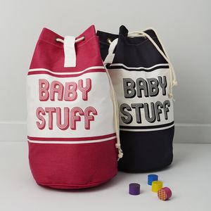 Baby Stuff Duffle Changing Bag - bags