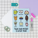 'My Dad Is..' Funny Fathers Day Card