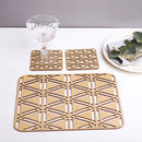 Imperial Placemats And Caosters Tableware Set