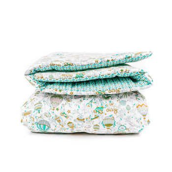 Liberty Print Quilt In Sky High