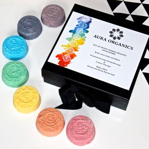 Chakra Balancing Bath Bomb Gift Set - shop by price