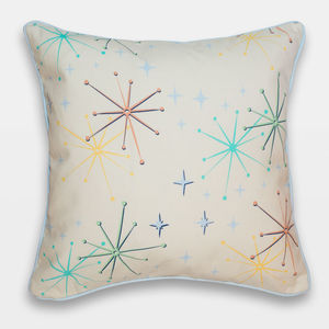 Midcentury Inspired Cushion 'Telstar' Design