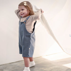 Shortie Dungarees - babies' dungarees