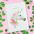 Luxury Unicorn Notebook / Journal