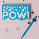 Pow Notebook And Pen Set