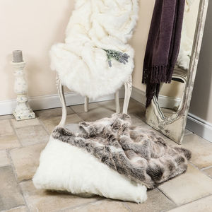 Luxury Faux Fur Throw Collection - blankets & throws