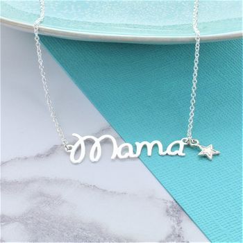 Mama Star Necklace