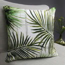 Tropical Fronds Botanical Cushion