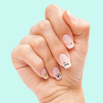 Panda Animal Party Nail Art Transfers